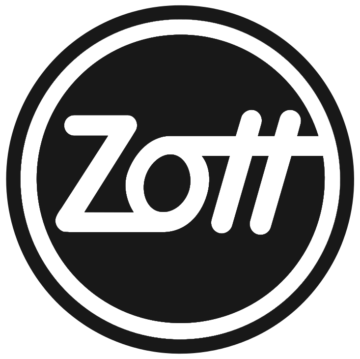zott logo black and white