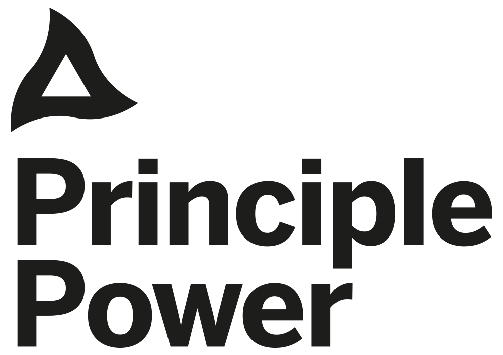 principle power logo without baseline